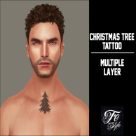 Fe Style - Christmas Tree Tattoo