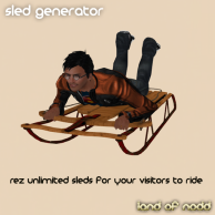 Land of Nodd Sled Generator