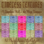 15 Seamless Will o' the Wisp Timeless Textures