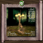 (RVi Design) light Wood Elven Statue Lamp_iTouch Fantasy Prize