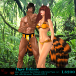 Tiger Bikini Ad